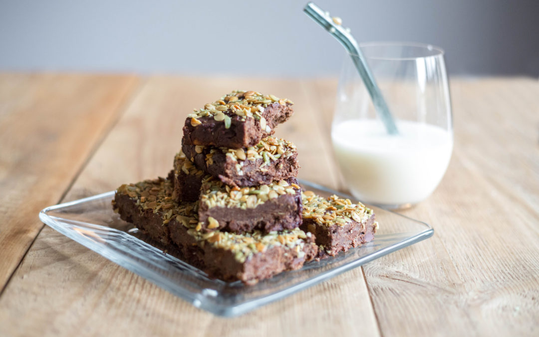 Easy holiday recipes: Healthy chocolate Christmas brownies recipe