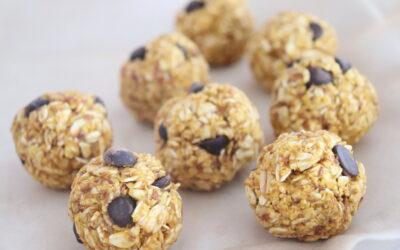 Immunity-Boosting Snack Recipe: Pumpkin Energy Bites